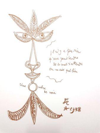 Litografia Cocteau - La Voix