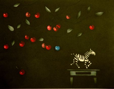 Maniera Nera Avati - La zebre a Montmorency