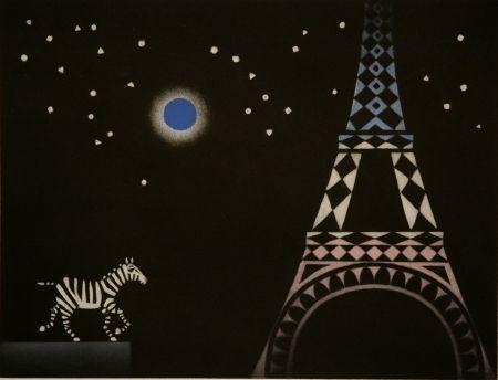 Maniera Nera Avati - La zebre a Paris