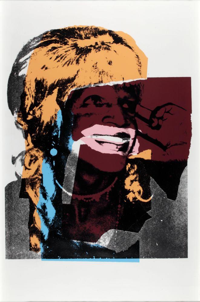 Serigrafia Warhol - Ladies And Gentlemen FS II.133