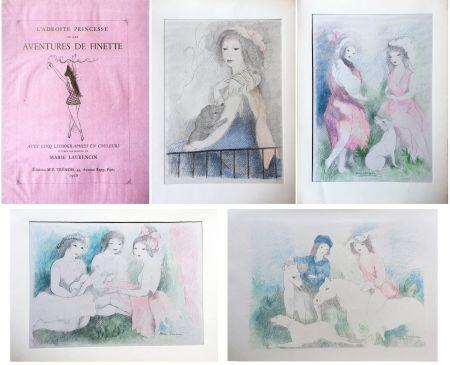 Libro Illustrato Laurencin - L'Adroite Princesse : ou LES AVENTURES DE FINETTE, conte de fées.