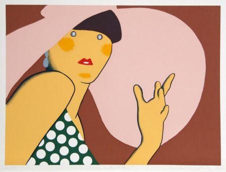Serigrafia Kogelnik - LADY WITH HAT