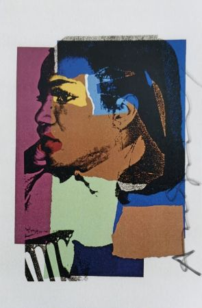 Serigrafia Warhol -  Laides and Gentleman (Signed)