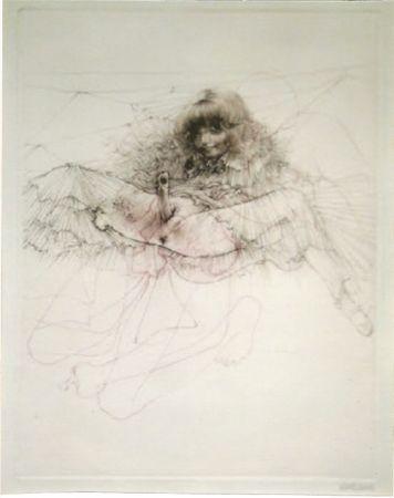 Acquatinta Bellmer - L'aigle mademoiselle