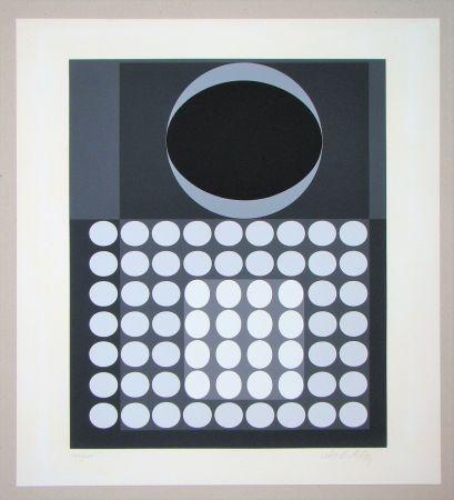 Serigrafia Vasarely - Laika