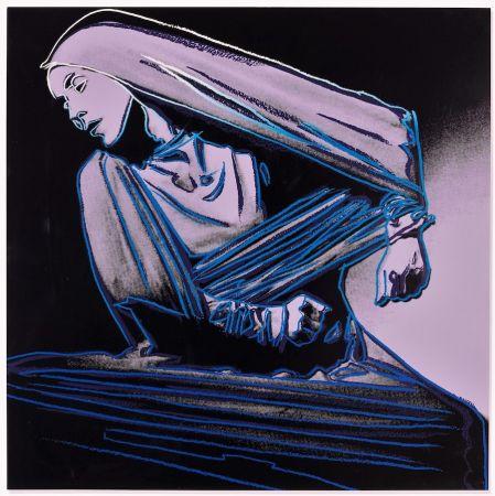 Litografia Warhol - Lamentation