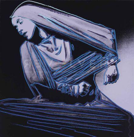Serigrafia Warhol - Lamentation (Fs Ii.388)