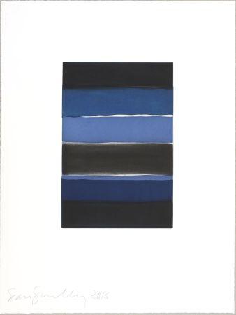 Acquatinta Scully - Landline (blue)