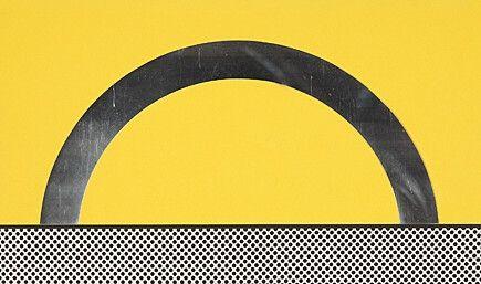 Serigrafia Lichtenstein - Landscape 7