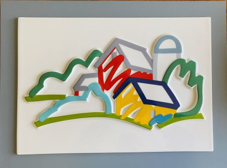 Ceramica Wesselmann - Landscape II- 3D Objekt