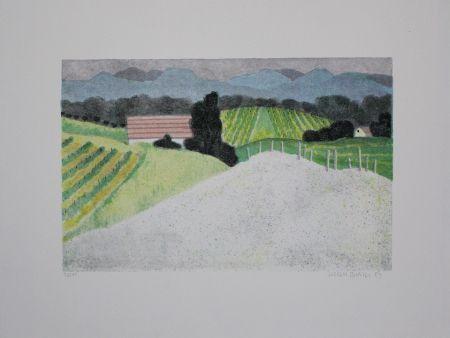 Litografia Breiter - Landschaft / Landscape