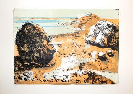 Litografia Berman - Landschaft / Landscape
