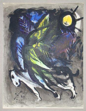 Litografia Chagall - L'Ange
