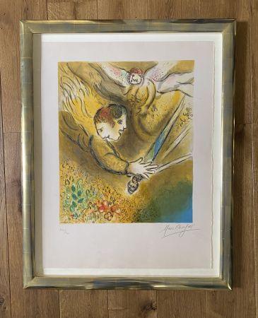 Litografia Chagall (After) -  L'ange du jugement