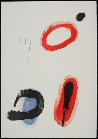 Litografia Miró - L'anneau