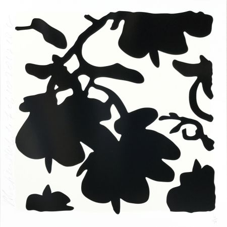 Serigrafia Sultan - Lantern Flowers (Black /white)