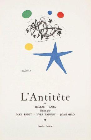 Litografia Miró - L'Antitête