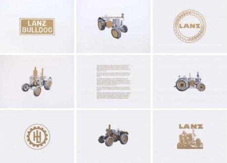 Litografia Hamilton - Lanz Project