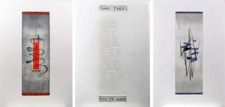 Libro Illustrato Springer - Lao-Tseu : Tao Te King : 17 burins en couleurs de F. Springer (1952)
