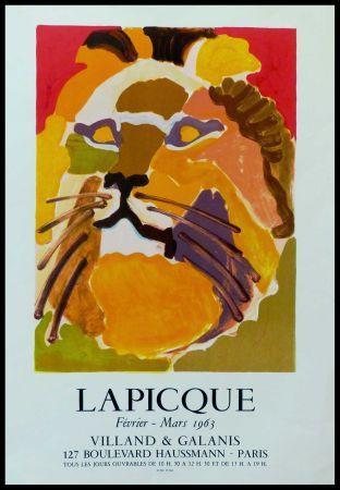 Manifesti Lapicque - LAPICQUE GALERIE VILLAND GALANIS