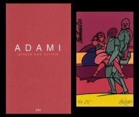 Libro Illustrato Adami - L'art en écrit