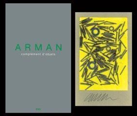 Libro Illustrato Arman - L'art en écrit