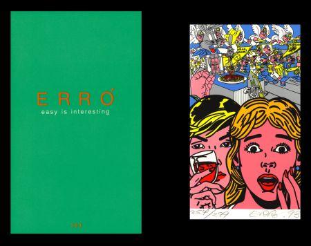 Libro Illustrato Erro - L'art en écrit