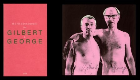 Libro Illustrato Gilbert & George - L'art en écrit