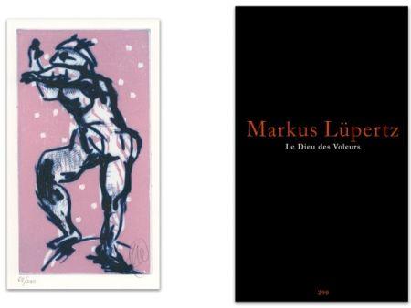 Libro Illustrato Lüpertz - L'art en écrit