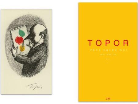 Libro Illustrato Topor - L'Art en écrit