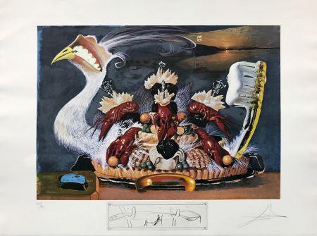 Litografia Dali - L'ATIVISME DESOXYRIBONUCLEIQUE