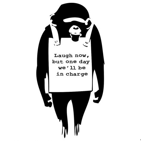 Serigrafia Banksy - Laugh Now