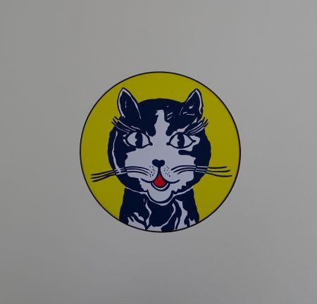 Serigrafia Lichtenstein - Laughing cat