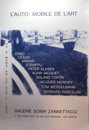Serigrafia Cesar - L'Auto: Mobile de l'Art