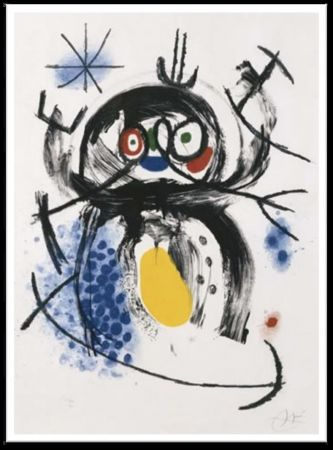 Carborundum Miró - L'Automobiliste a' Moustaches