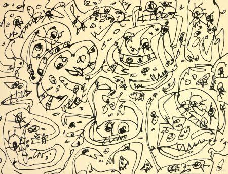 Litografia Saura - L'Avarice