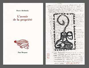 Libro Illustrato Alechinsky - L'avenir de la propriété