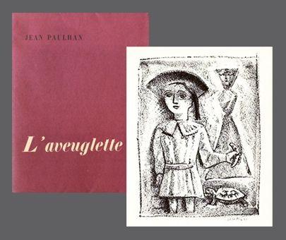 Libro Illustrato Campigli - L'Aveuglette