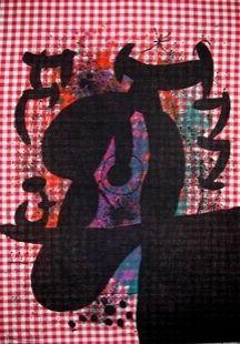 Litografia Miró - Le Bagnard