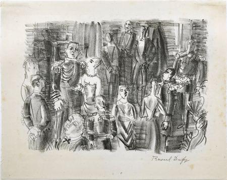 Litografia Dufy - Le Bal chez L'Amiral