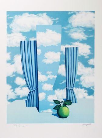 Litografia Magritte - Le Beau Monde