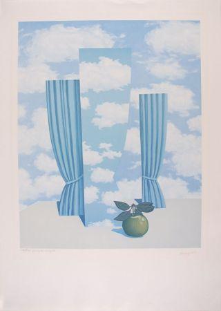 Litografia Magritte - Le Beau Monde - The Beautiful World