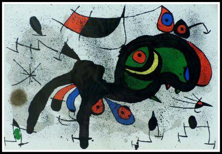 Litografia Miró - LE BELIER FLEURI