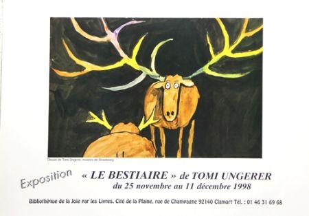 Offset Ungerer - Le Bestiaire  1998
