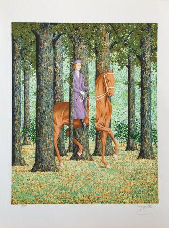 Litografia Magritte - Le Blanc-Seing