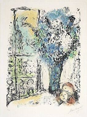 Litografia Chagall -