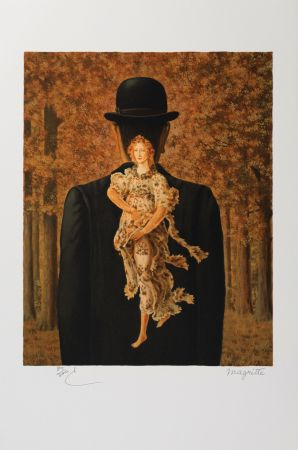 Litografia Magritte - Le Bouquet Tout Fait (The Ready-Made Bouquet)