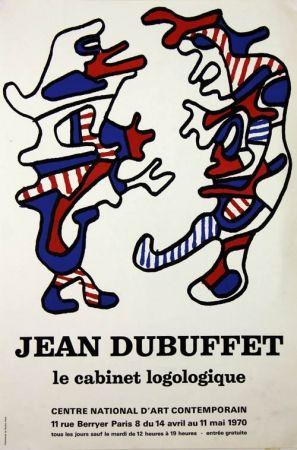 Litografia Dubuffet - Le Cabinet Logologique