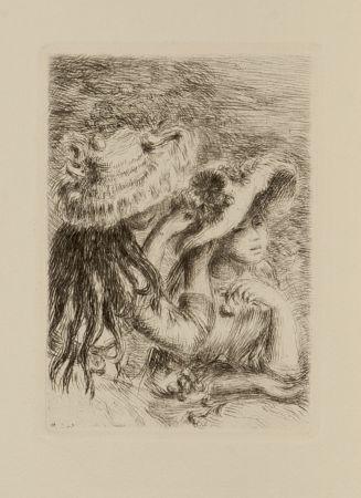 Acquaforte Renoir - Le chapeau epinglé