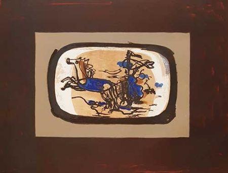 Litografia Braque - Le Char